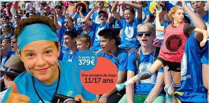 Stage Vendée Vacances Handball