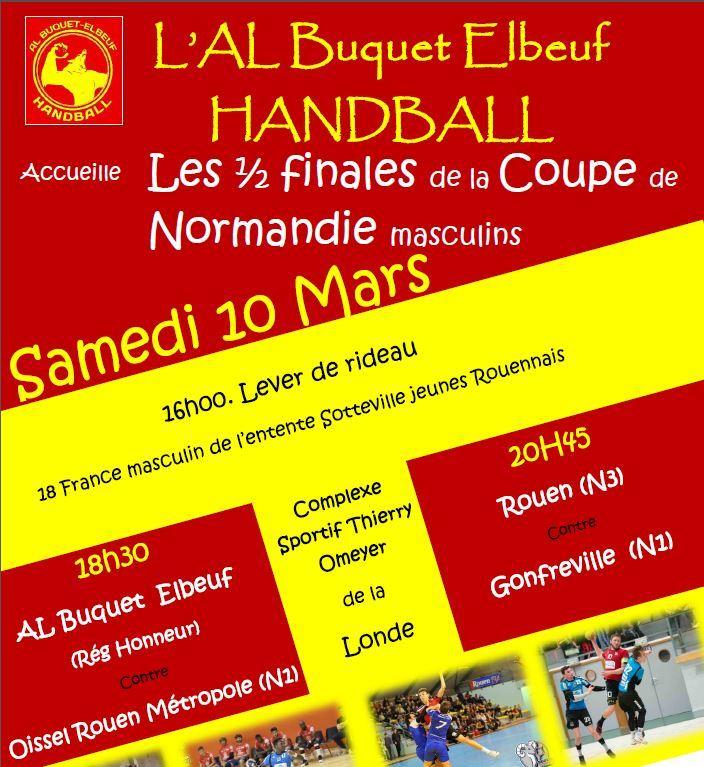 Demi Finales Coupe de Normandie du 10 Mars