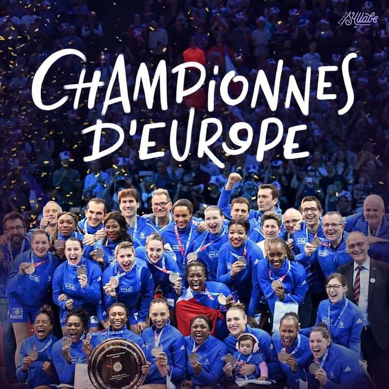 CHAMPIONNES D'EUROPE