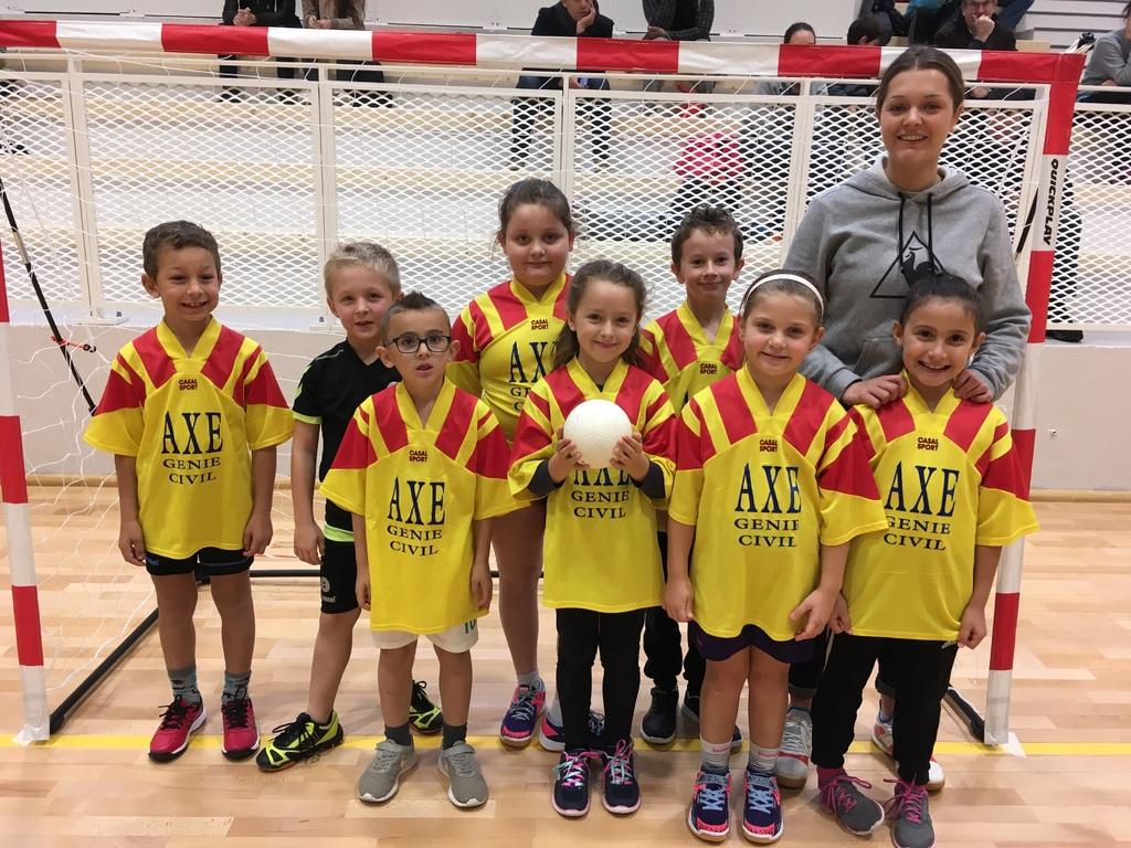 Plateau Mini-Hand du Buquet-Elbeuf Handball 28/04/2019