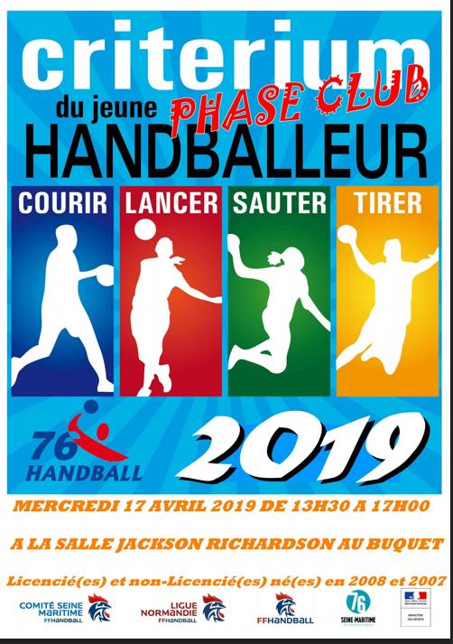 Critérium Jeune Handballeur