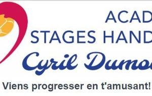 Stages Handball Cyril DUMOULIN